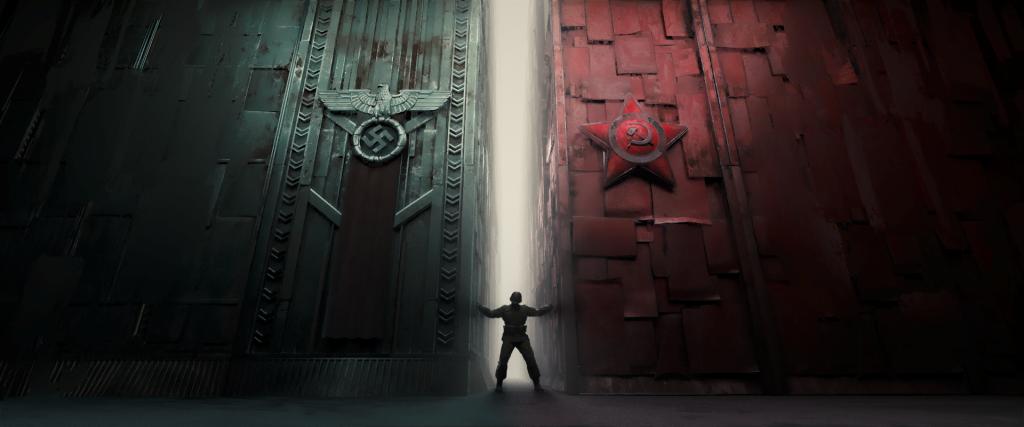 Nepremagani / The Unconquered, posnetek iz poljskega animiranega filma